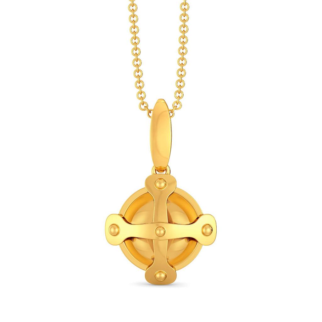 Belts N Buckles Gold Pendants