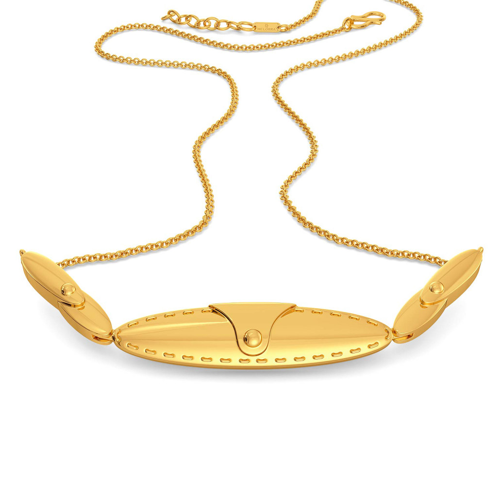 The Safari Saddle Gold Necklaces