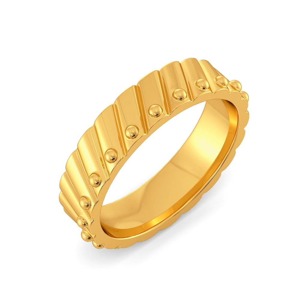 Parallel Play Gold Rings