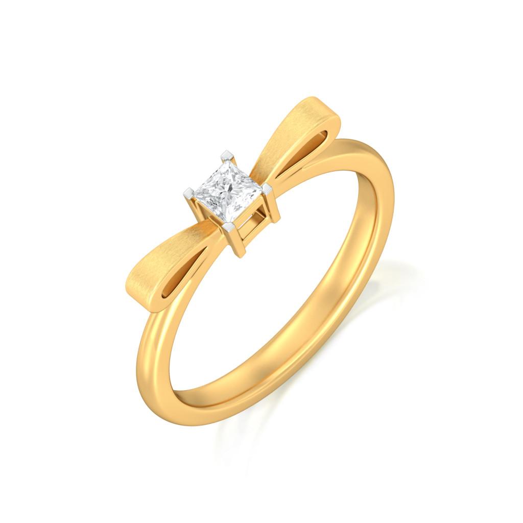 Take a Bow Gemstone Rings