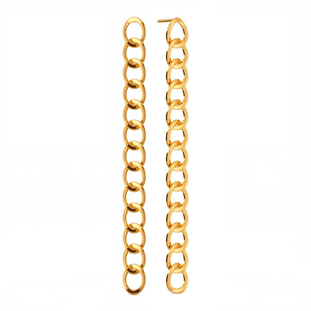 Link Trinks Gold Earrings