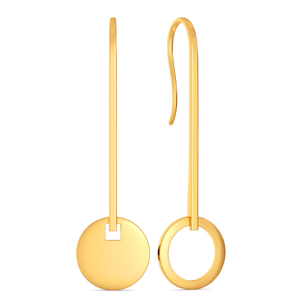 Out of True Gold Earrings