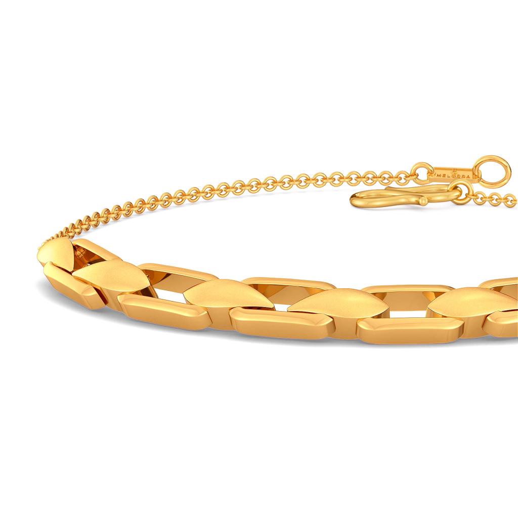 Link O Paisl Gold Bracelets