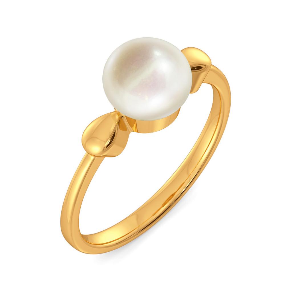 Dew Dot Gemstone Rings