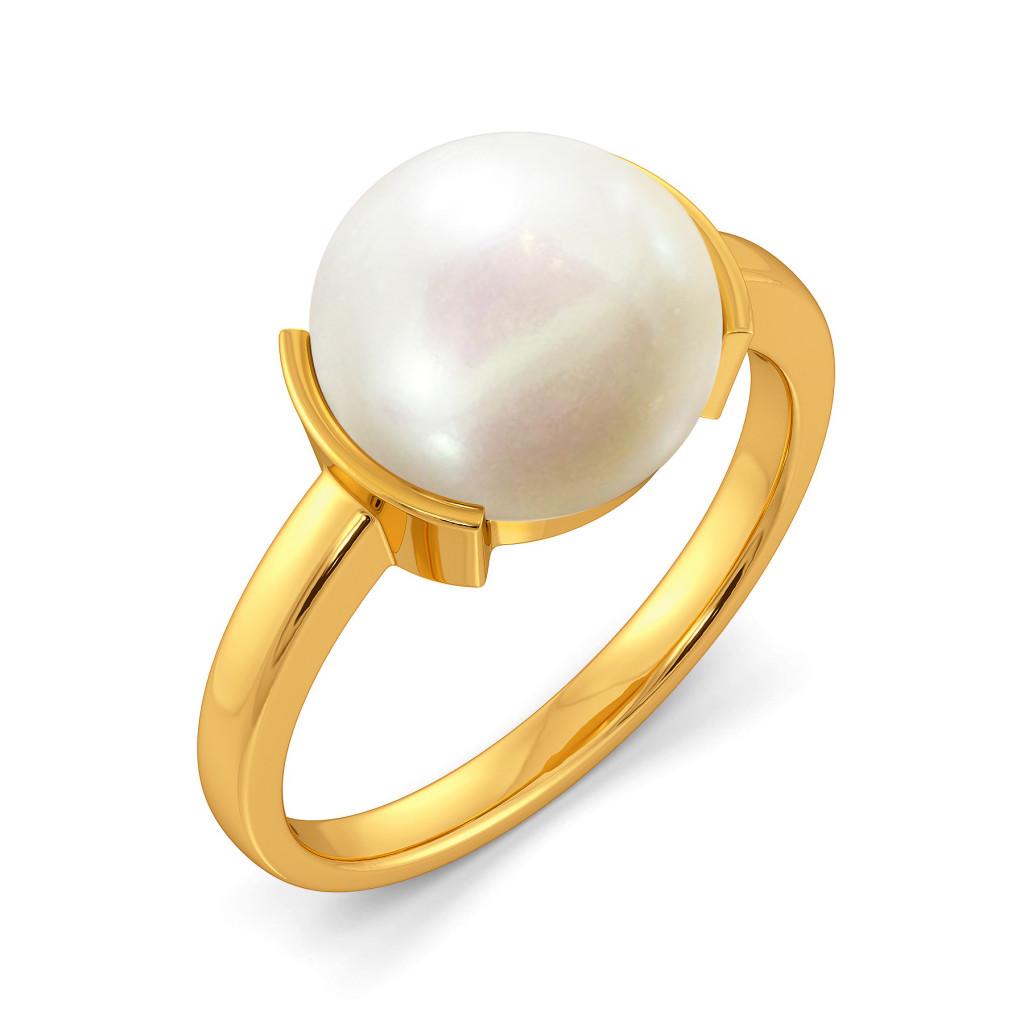 Pop A Pearl Gemstone Rings