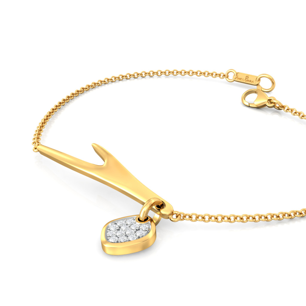 Horn Okay Please Diamond Bracelets