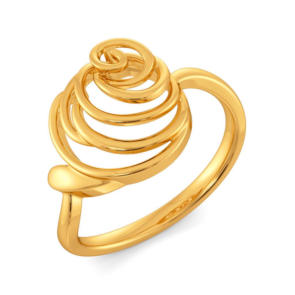 Dark Romance Gold Rings