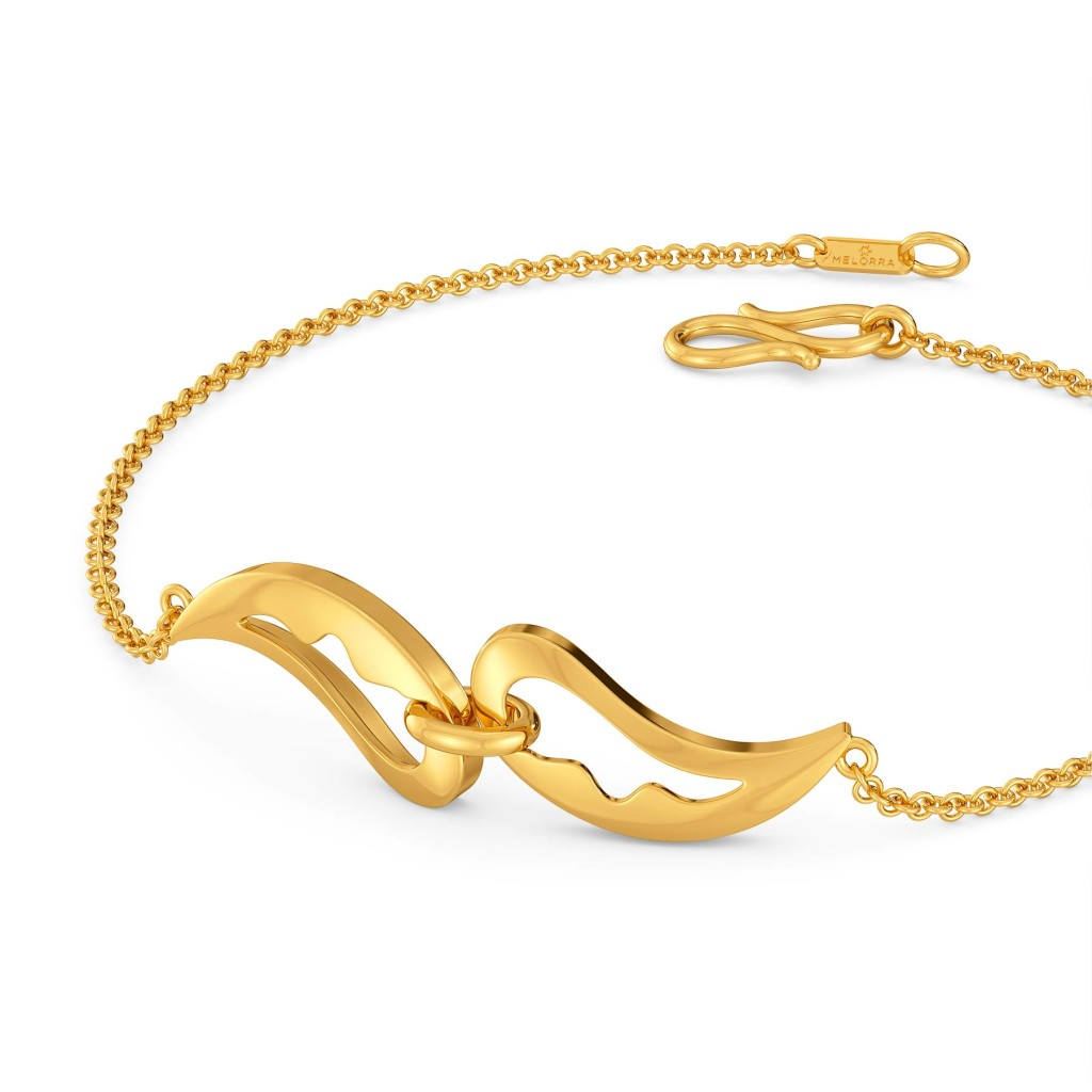 Paisley Pop Gold Bracelets