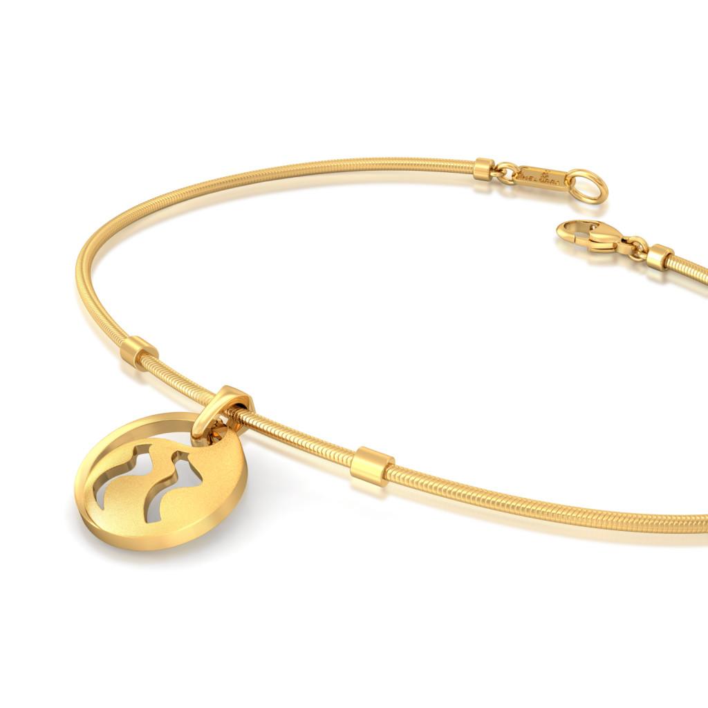 Boteh Beauty Gold Bracelets