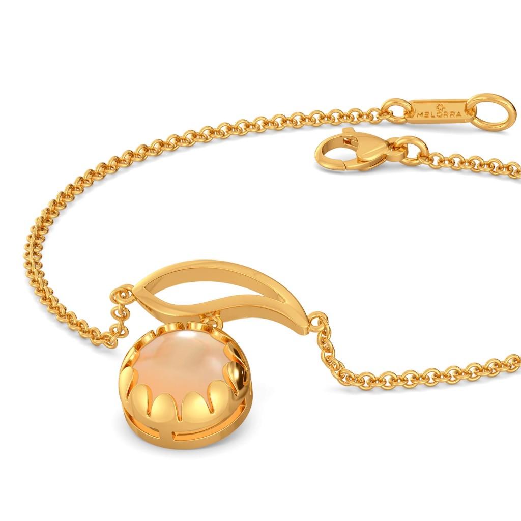 Colour Me Caramel Gemstone Bracelets