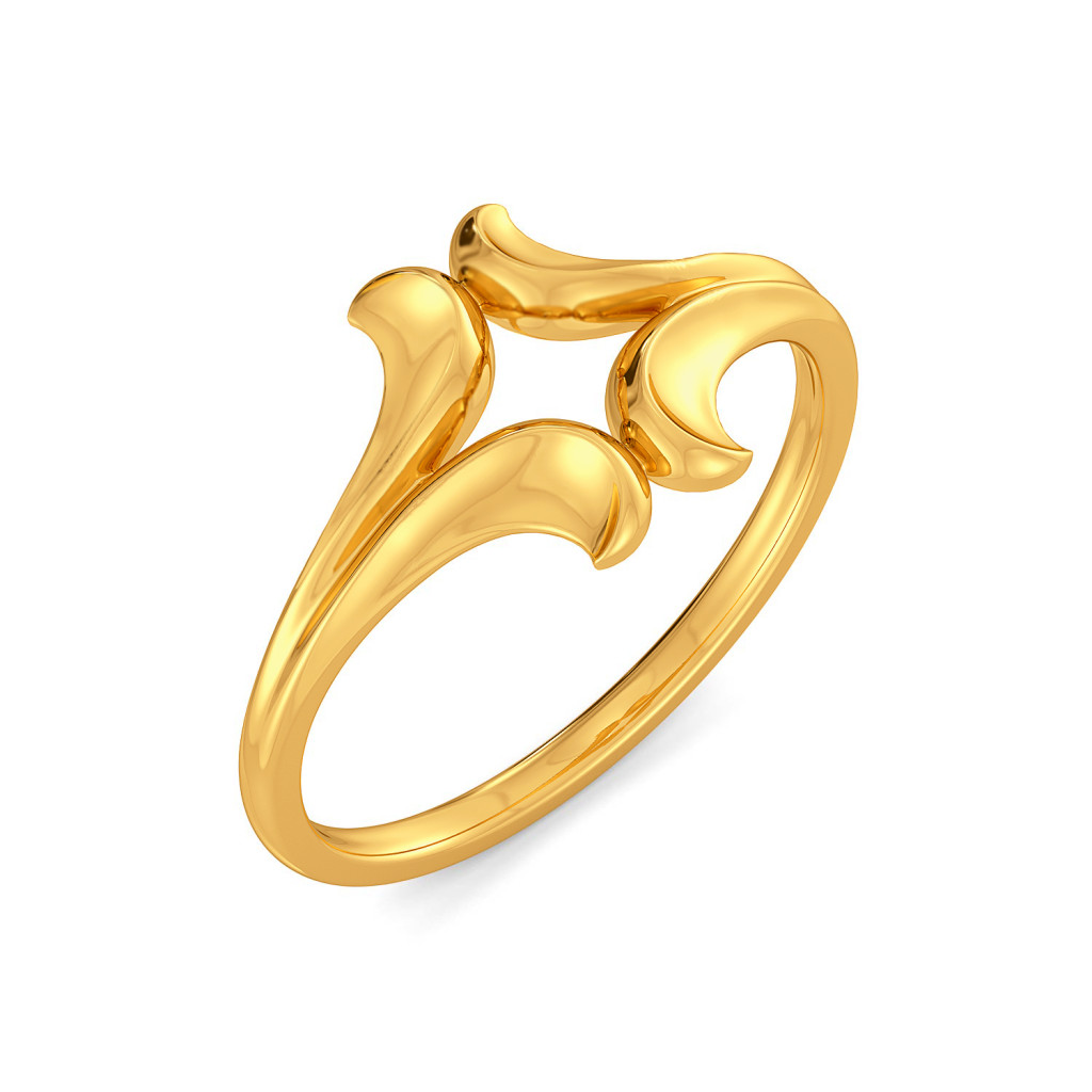 Cane Reign Gold Rings