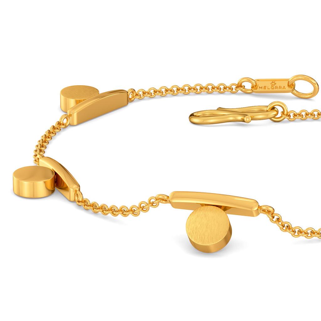 Sequin Meetings Gold Bracelets