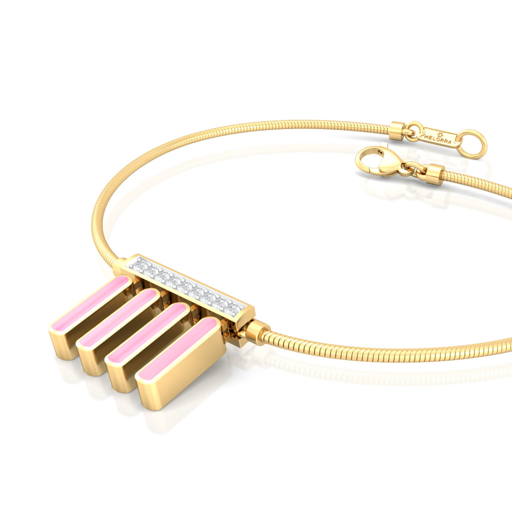 Chimes Effect Diamond Bracelets