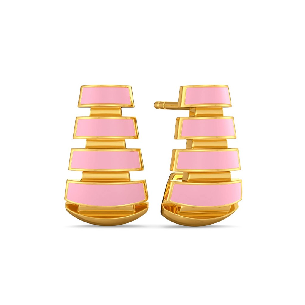 The Steeple Gold Earrings