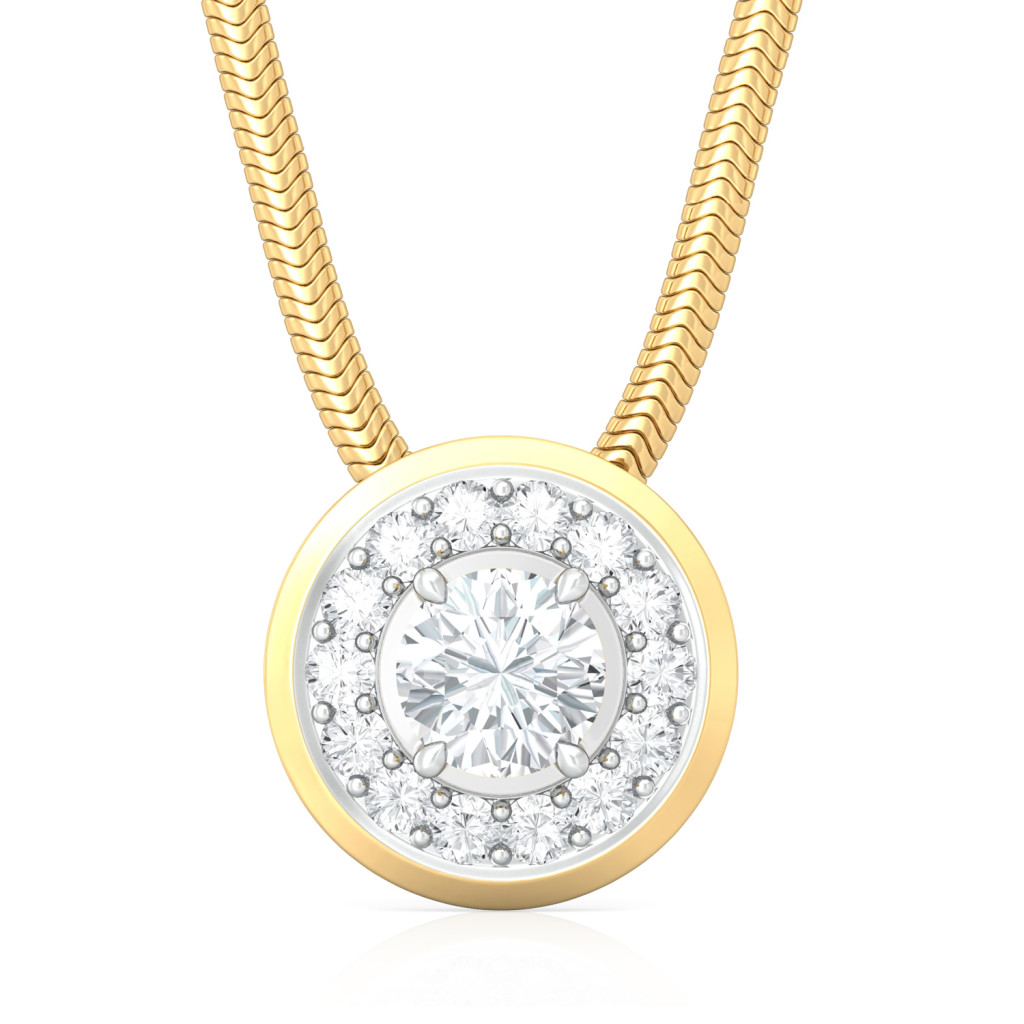 L'Amour Diamond Pendants