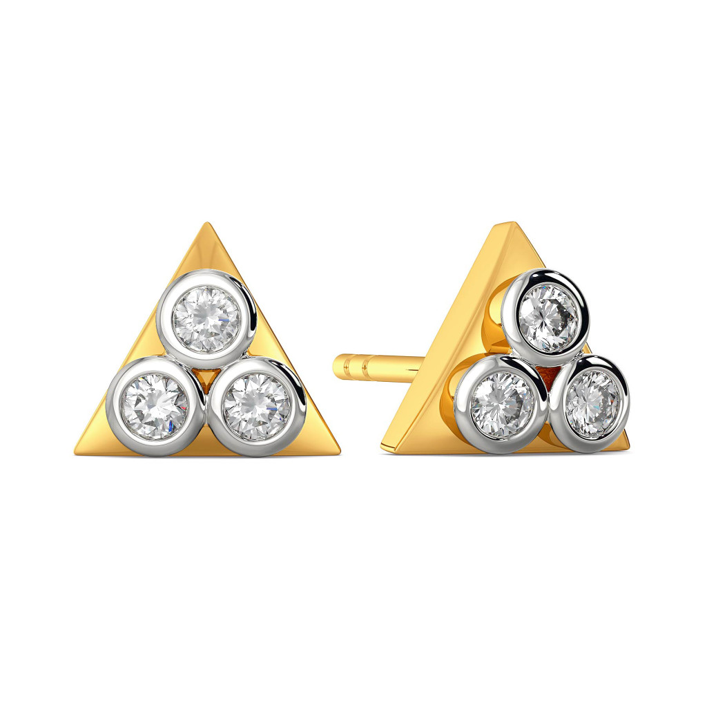 The Spinning Trio Diamond Earrings