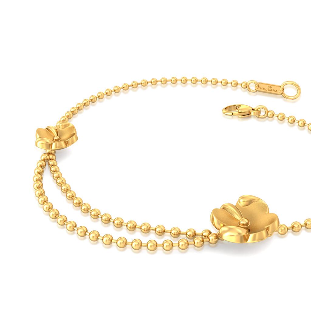 Autumn Gold Gold Bracelets