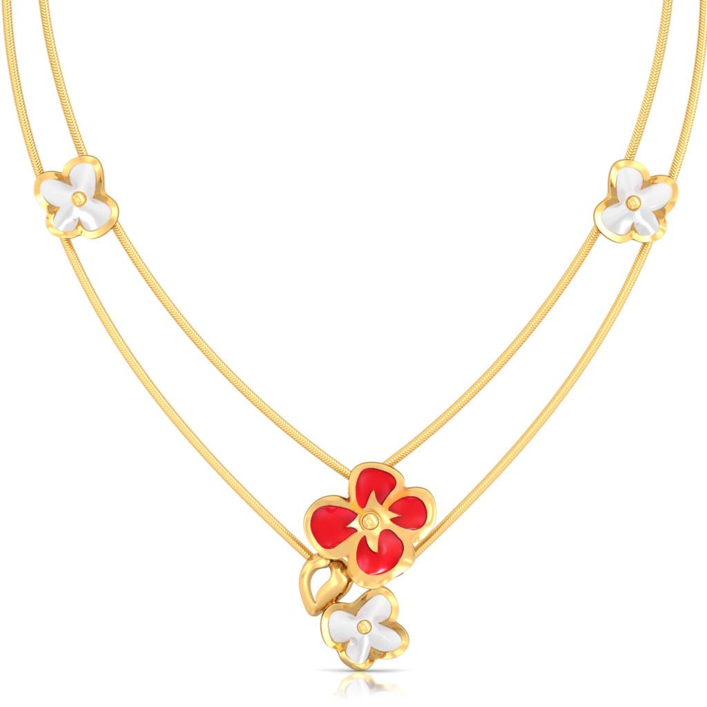 Retro Rose Gold Necklaces