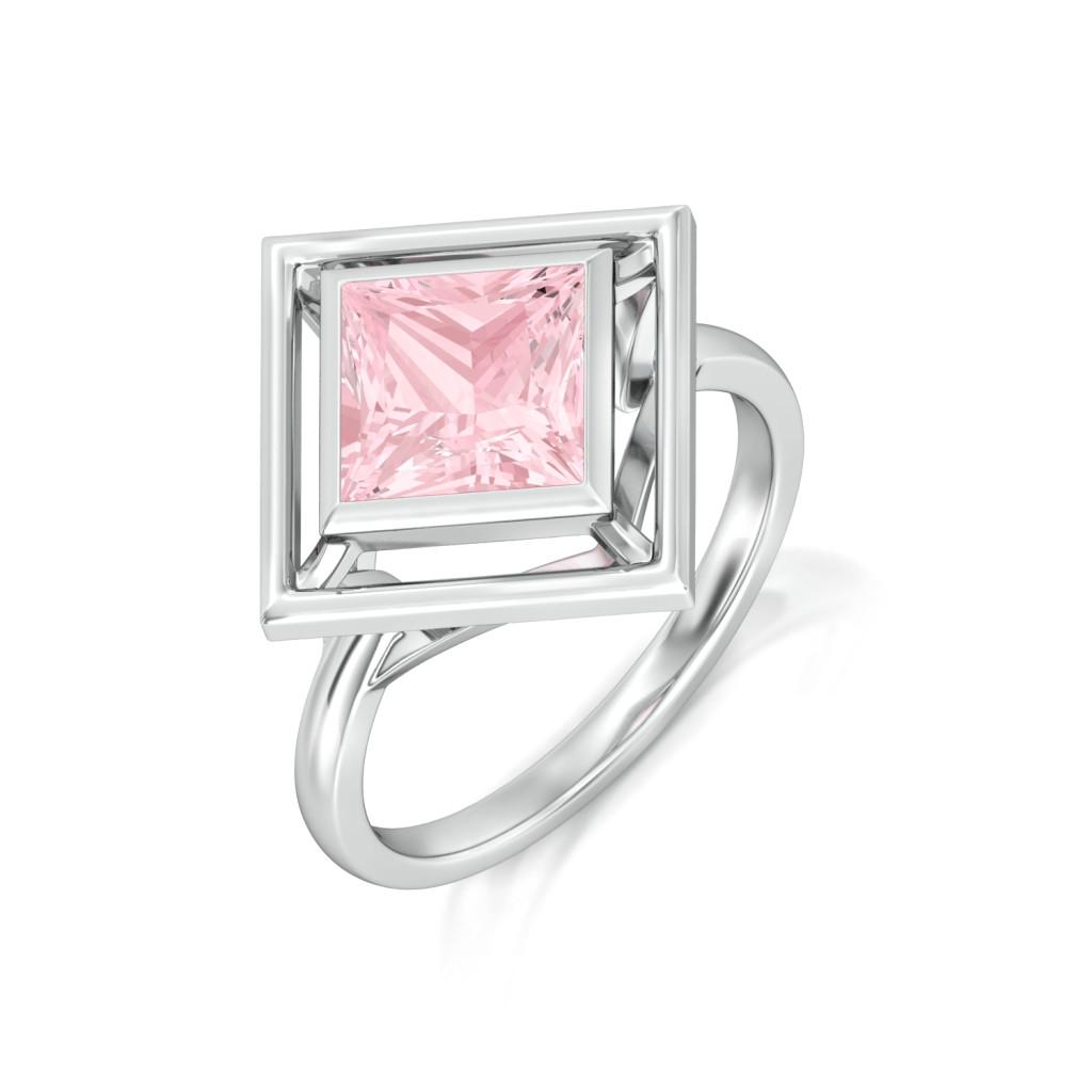 Pink Candy Gemstone Rings