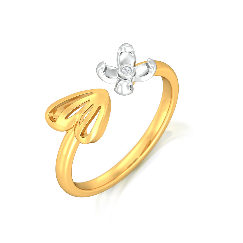 Wings of Grace Diamond Rings