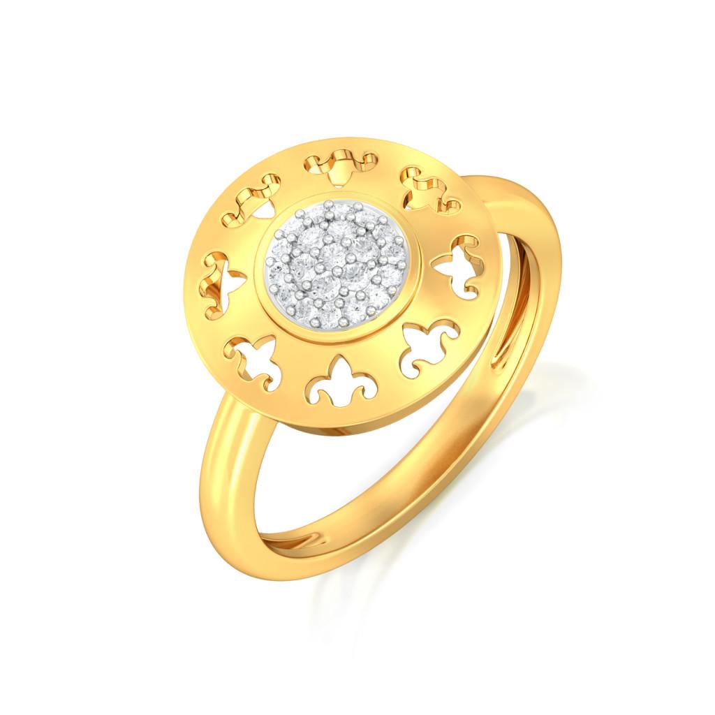 Dancing Diva Diamond Rings
