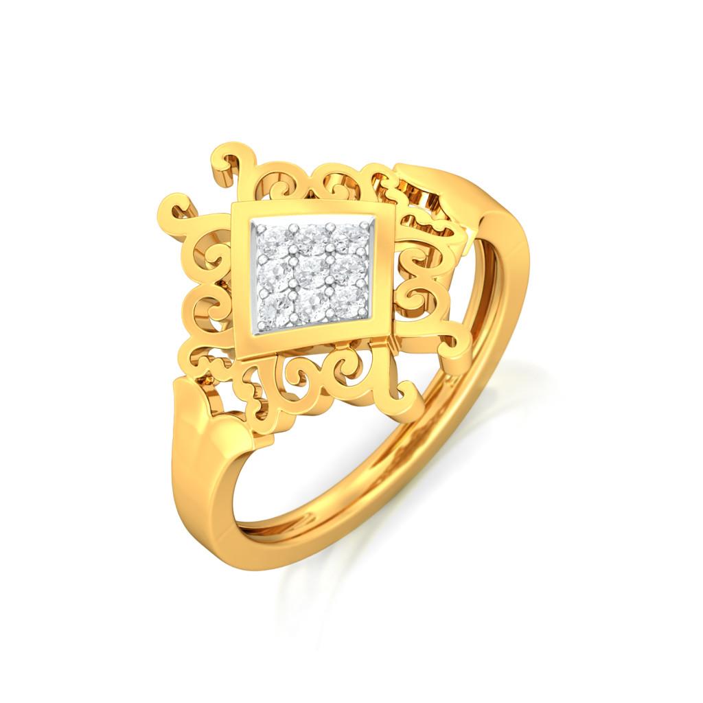 Royal Rendezvous Diamond Rings