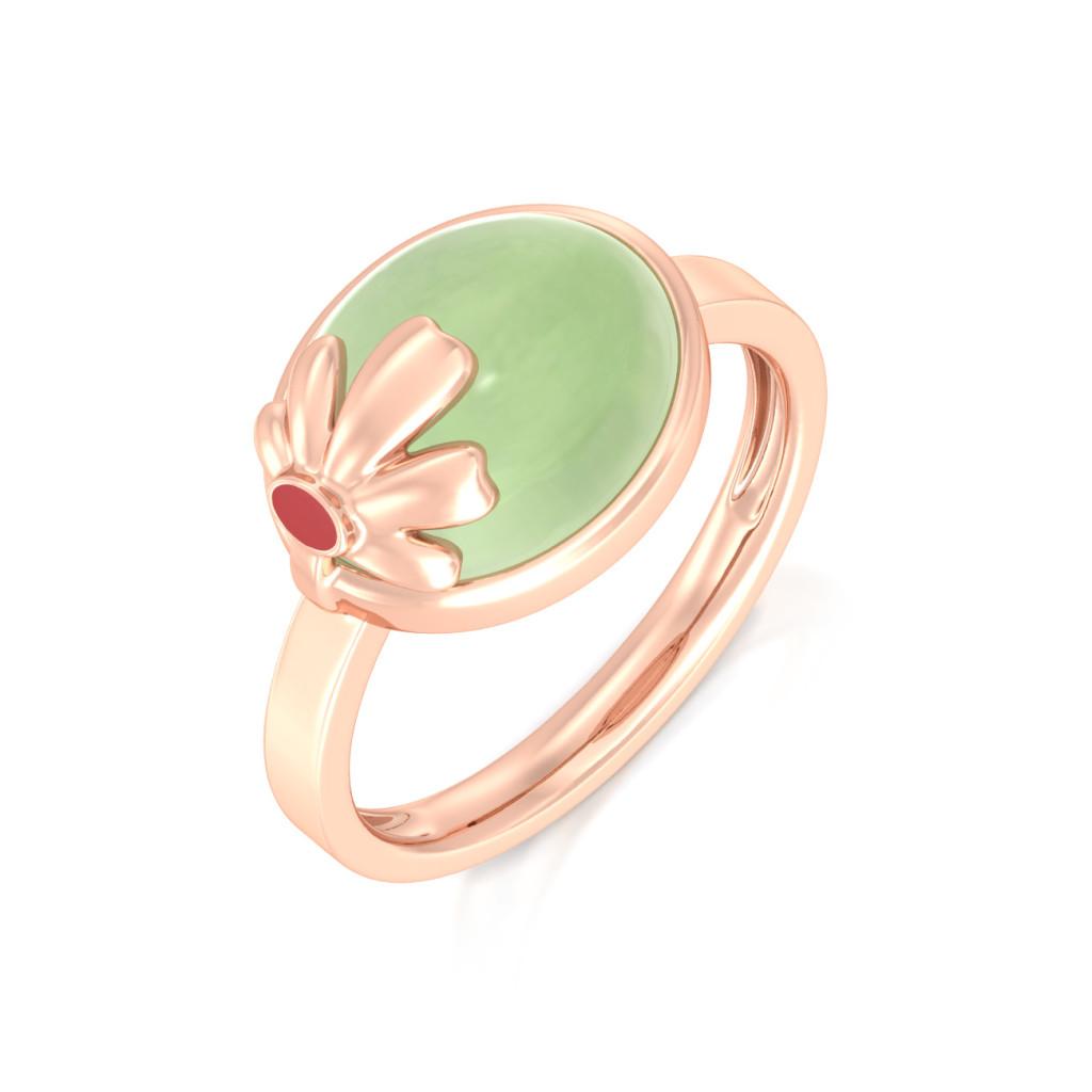 Blossom Lush Gemstone Rings