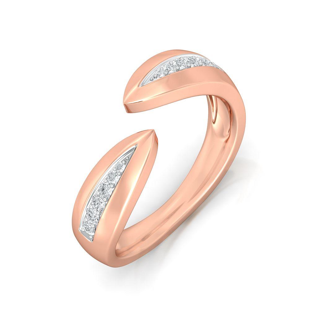 Seed-Pod Diamond Rings