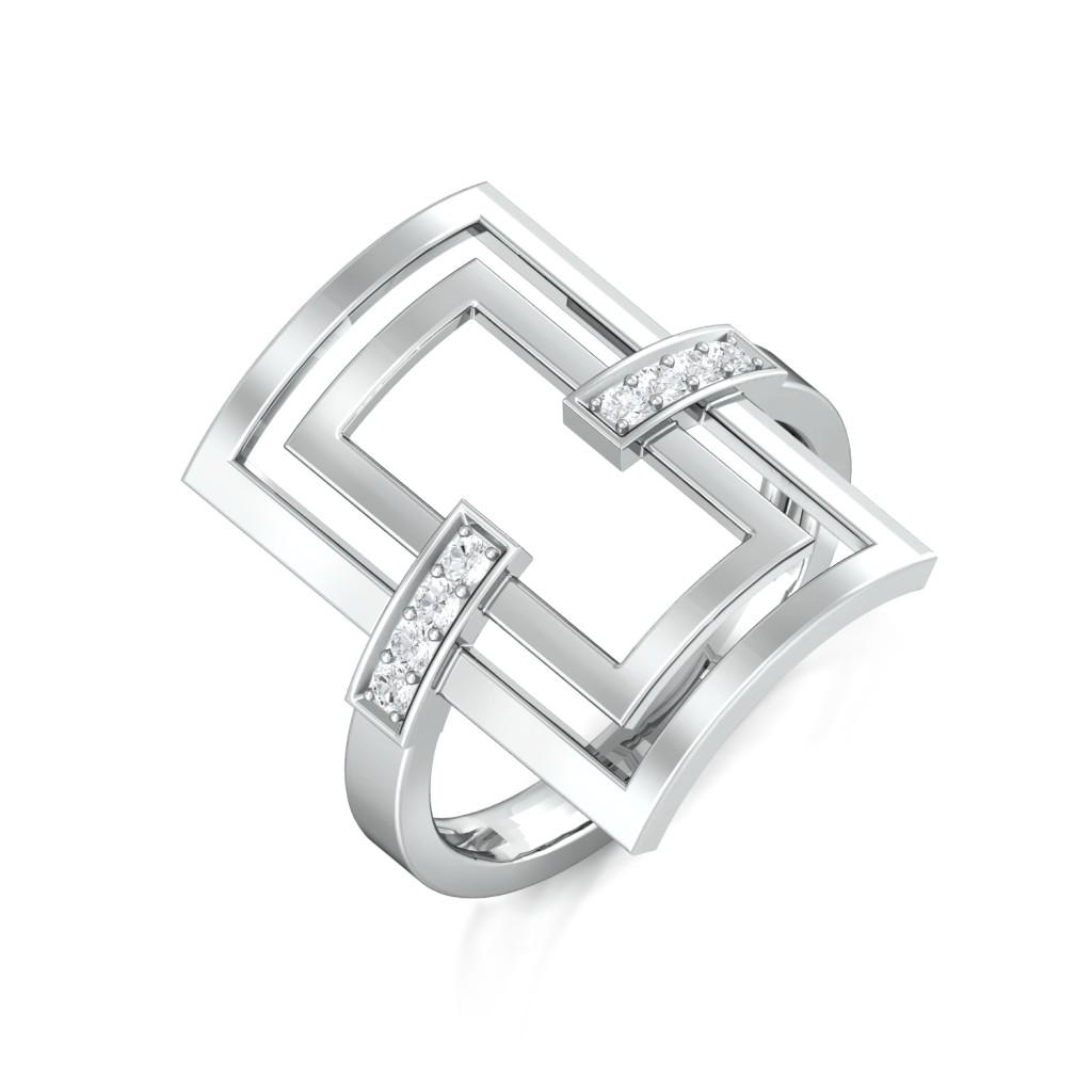 Frame of Mind Diamond Rings