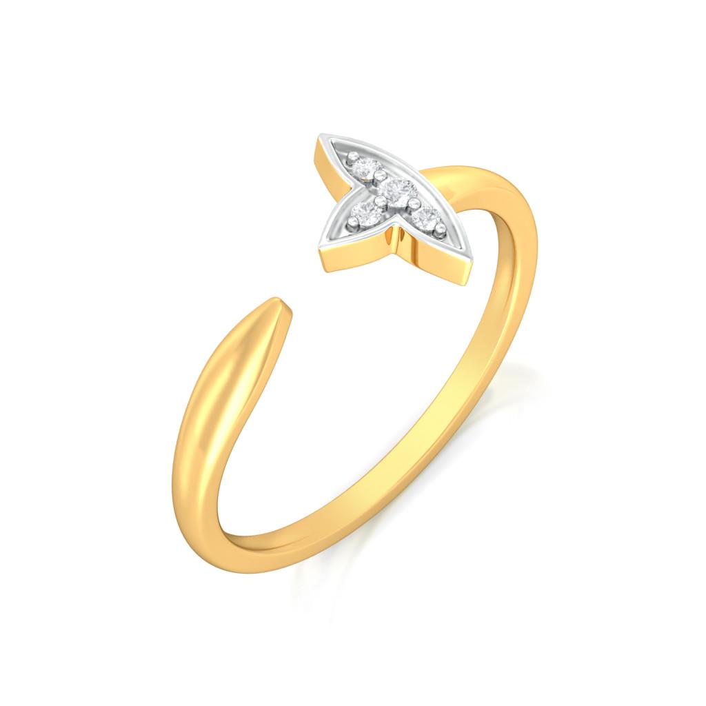 First Fleurs Diamond Rings