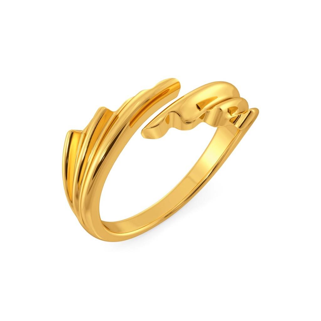 Chill Frill Gold Rings