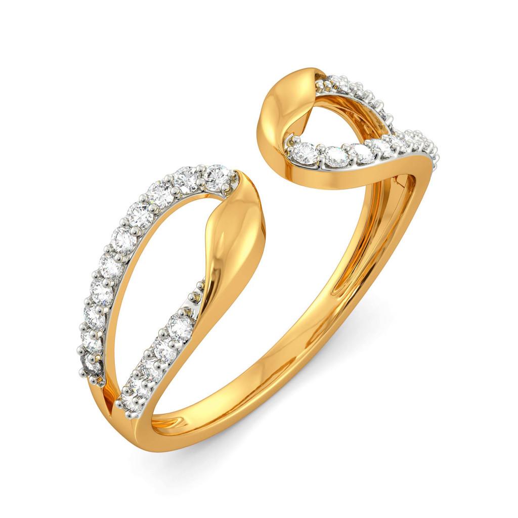 Blooming Bestie  Diamond Rings
