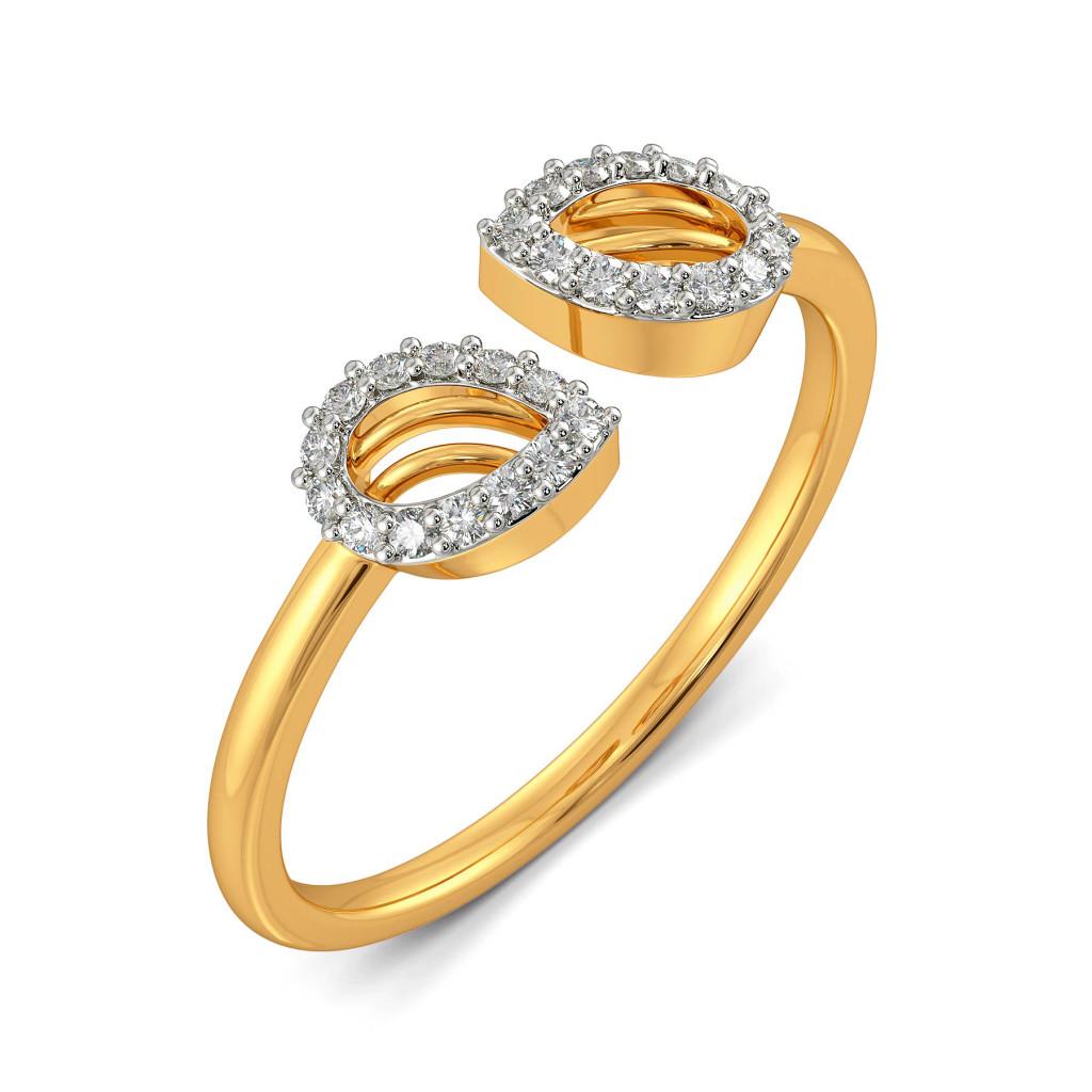 Femme Petale Diamond Rings