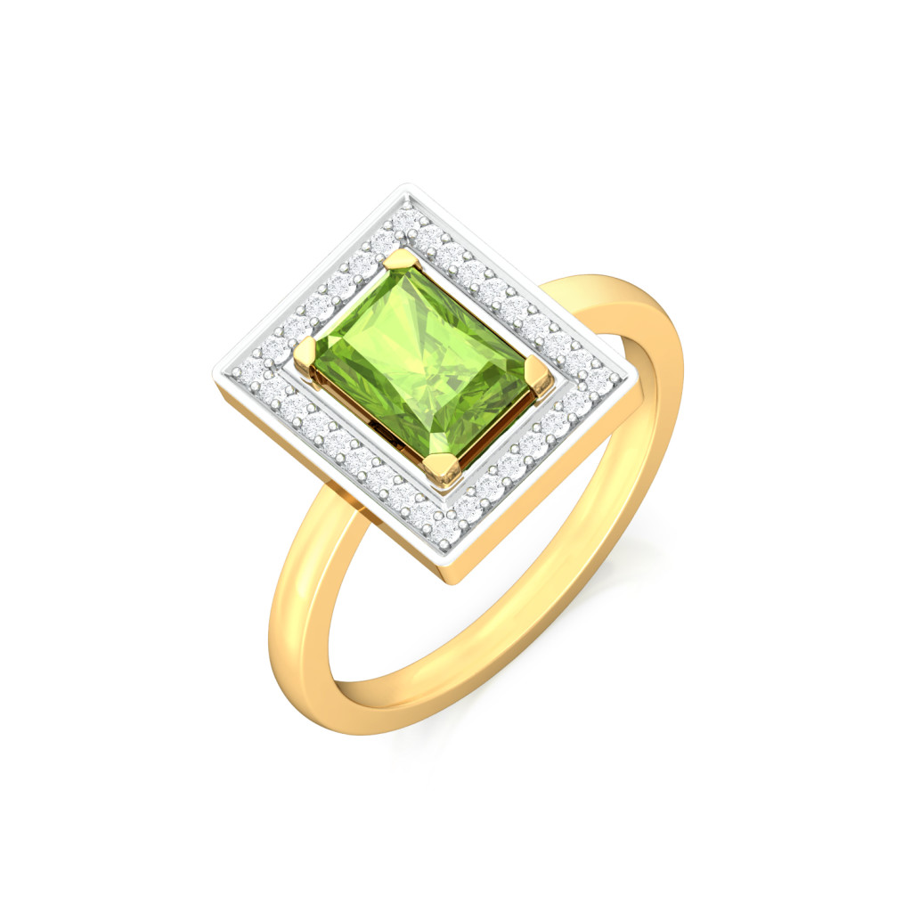 Wild Forest Diamond Rings