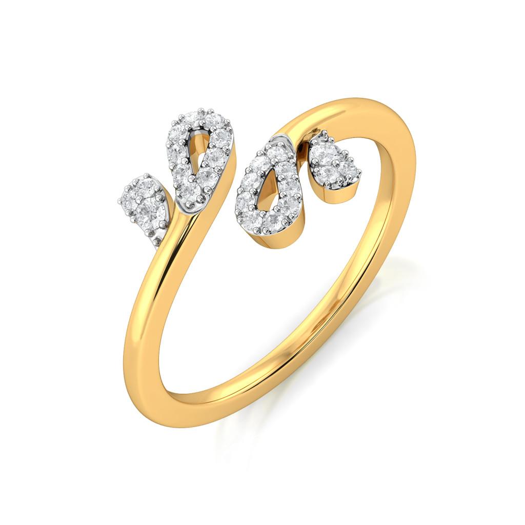 Petal Perfection Diamond Rings