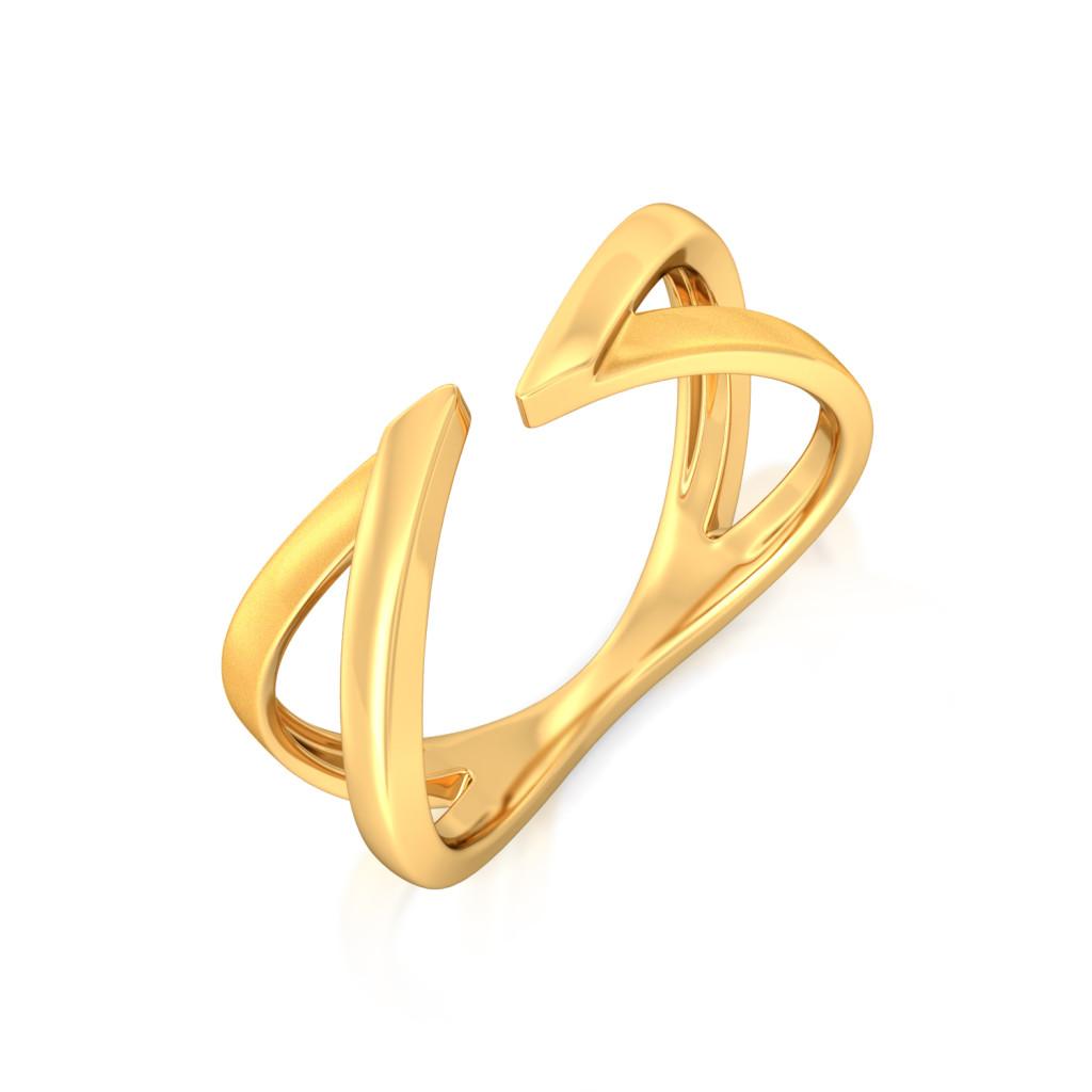 Vector Phenomenal Gold Rings