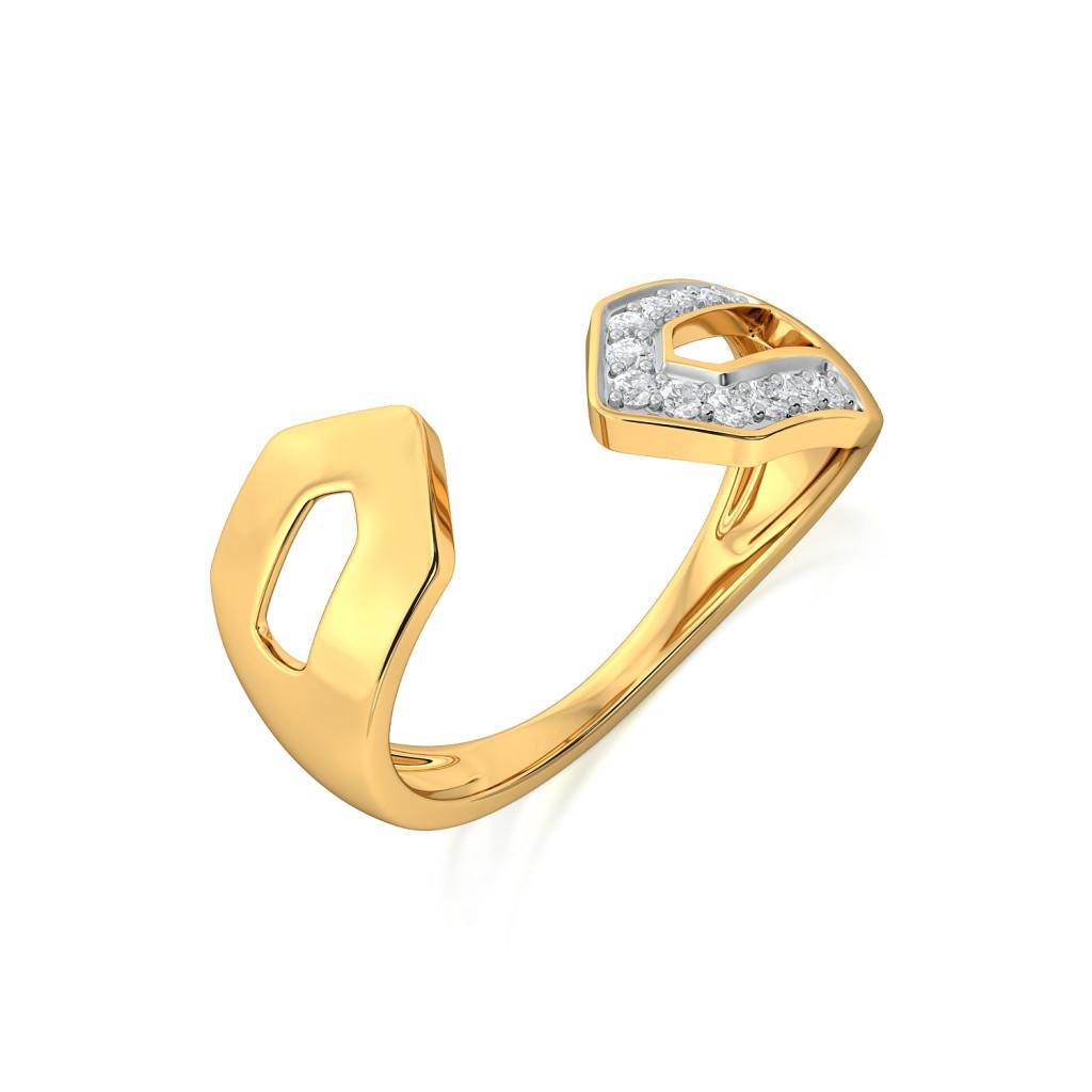 Lime-rick Diamond Rings
