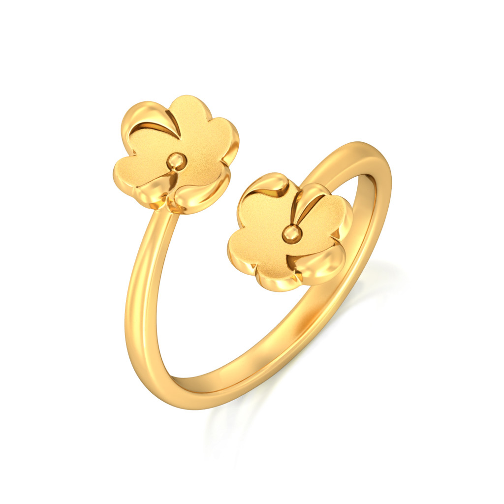Autumn Gold Gold Rings