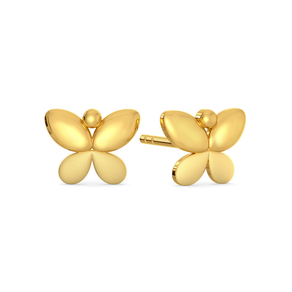 Fly Chi Gold Earrings