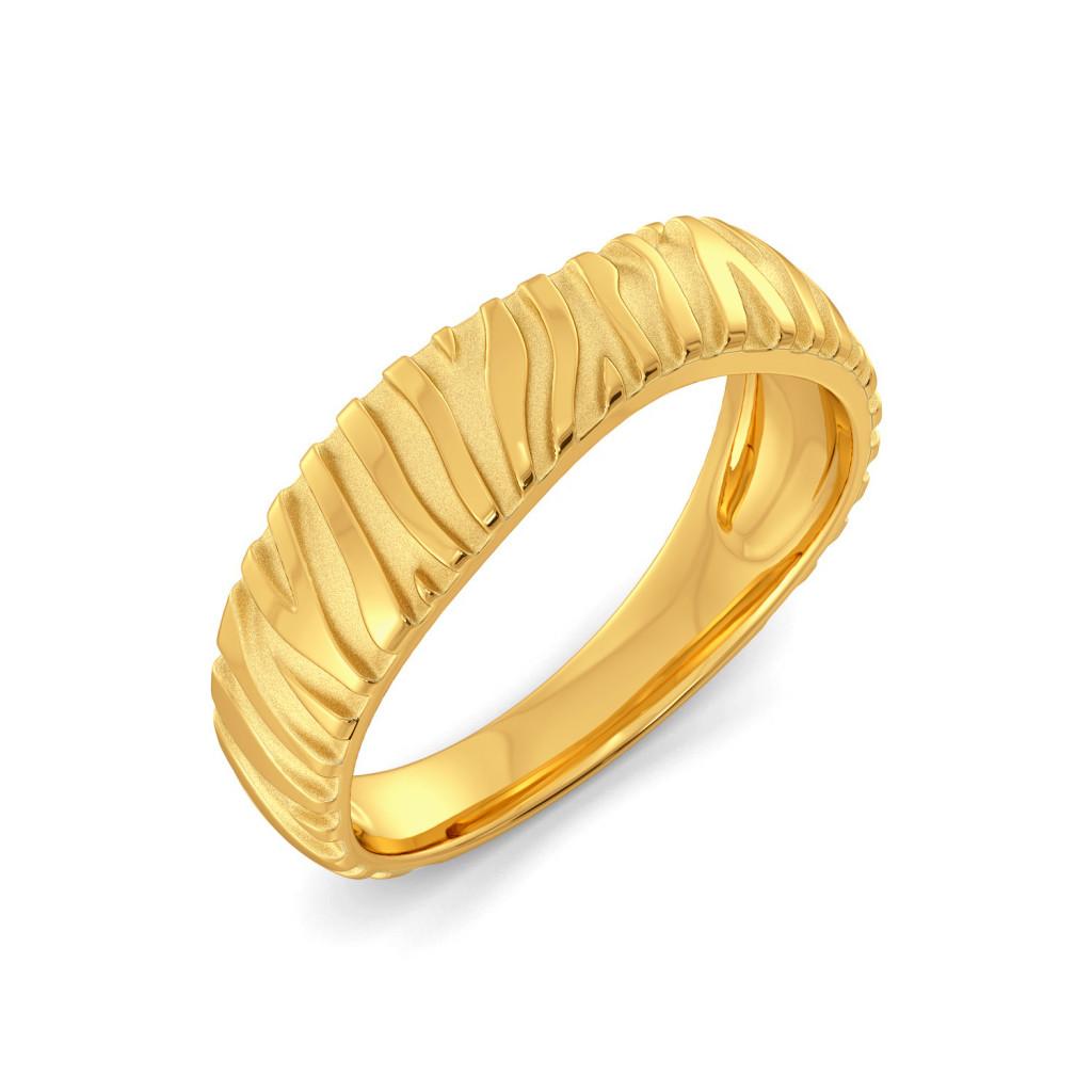 Chic Streak Gold Rings
