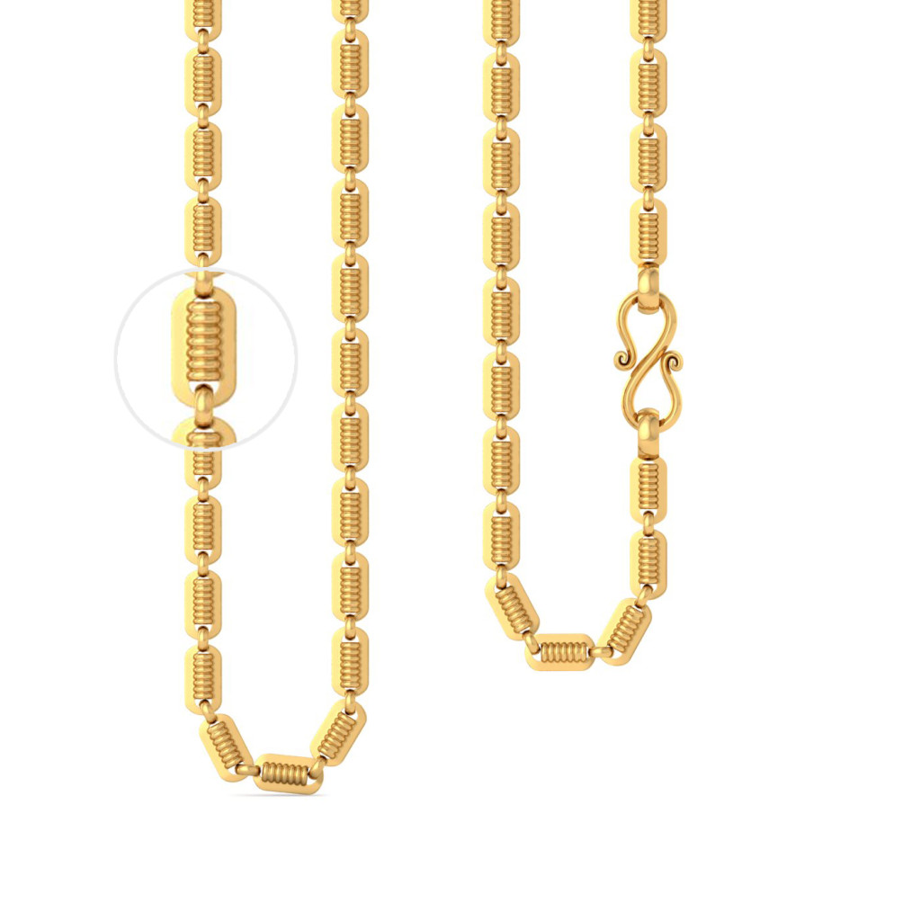 22kt Peas in a pod chain Gold Chains
