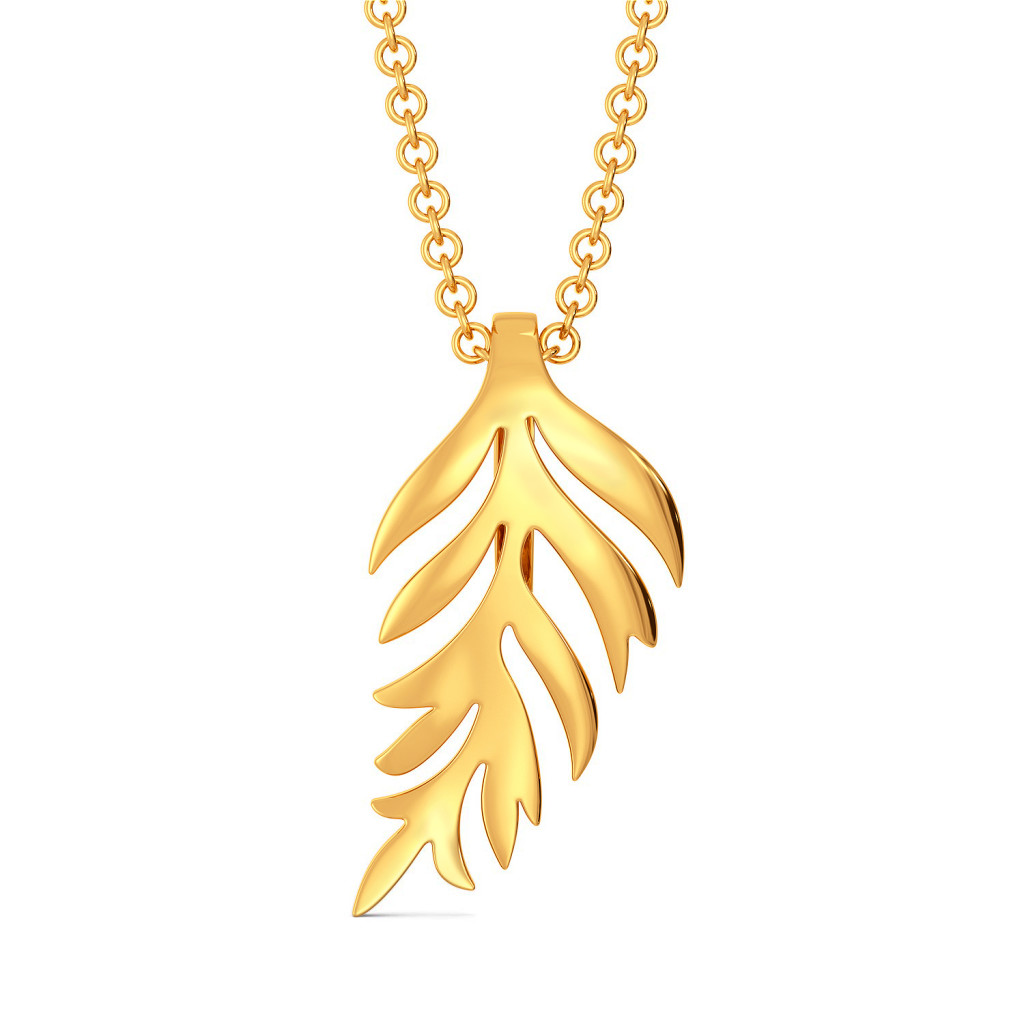 Shingle Shangle Gold Pendants