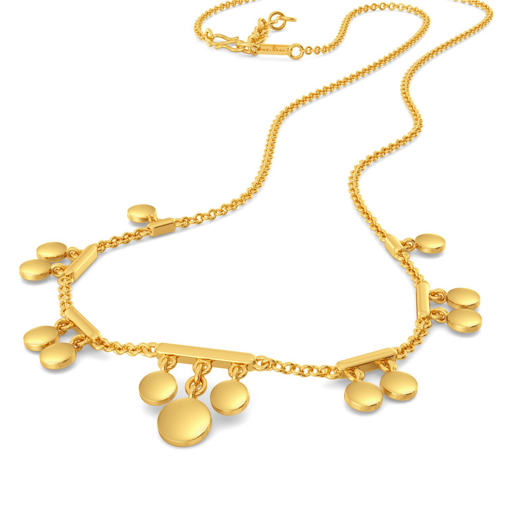 Disco Drama Gold Necklaces