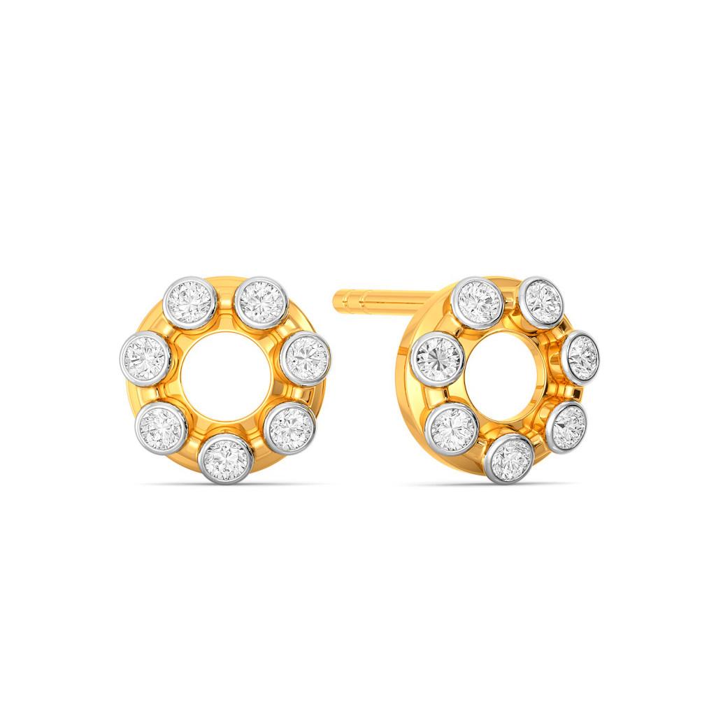 Hoop Loops Diamond Earrings