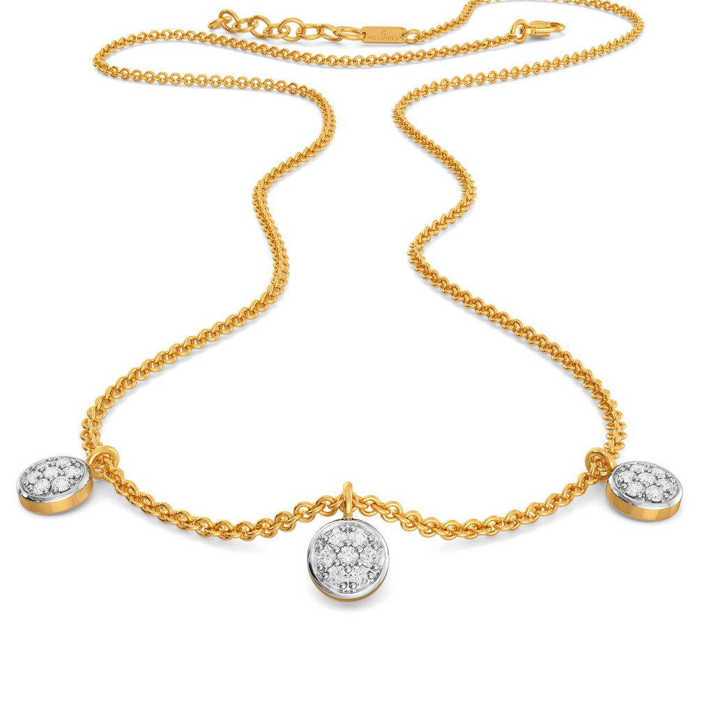Coin Collector Diamond Necklaces