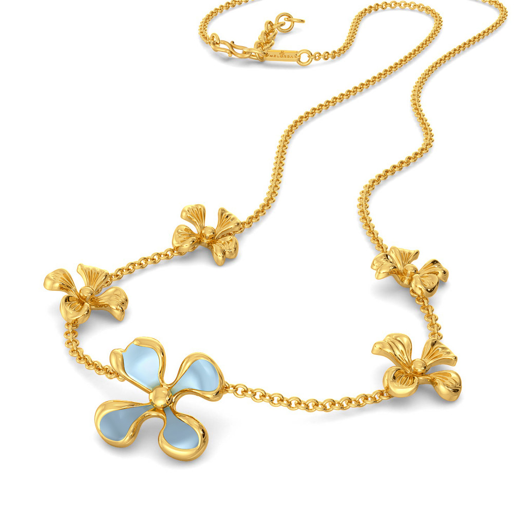 Flor Bonica Gold Necklaces
