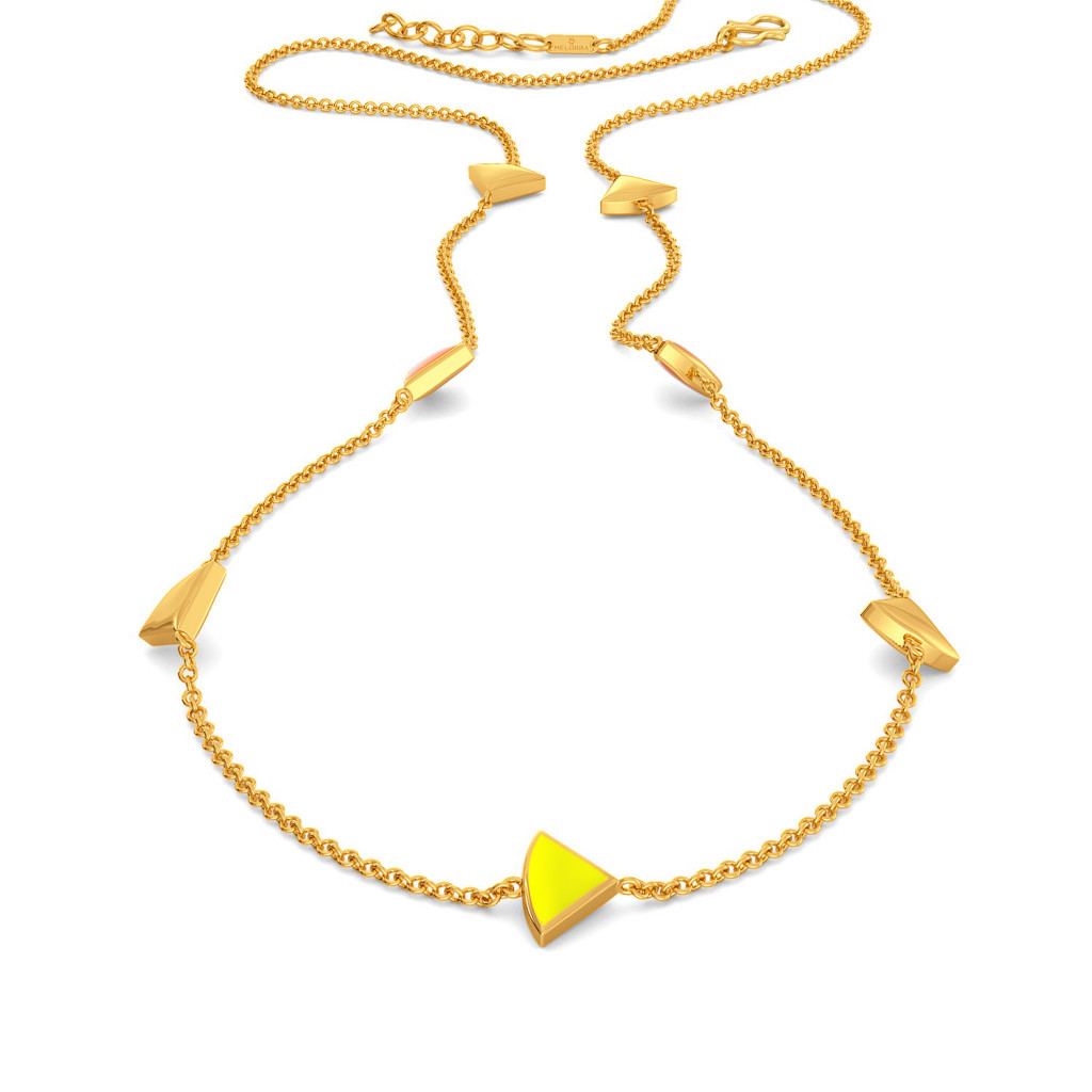 The Neon Show Gold Necklaces
