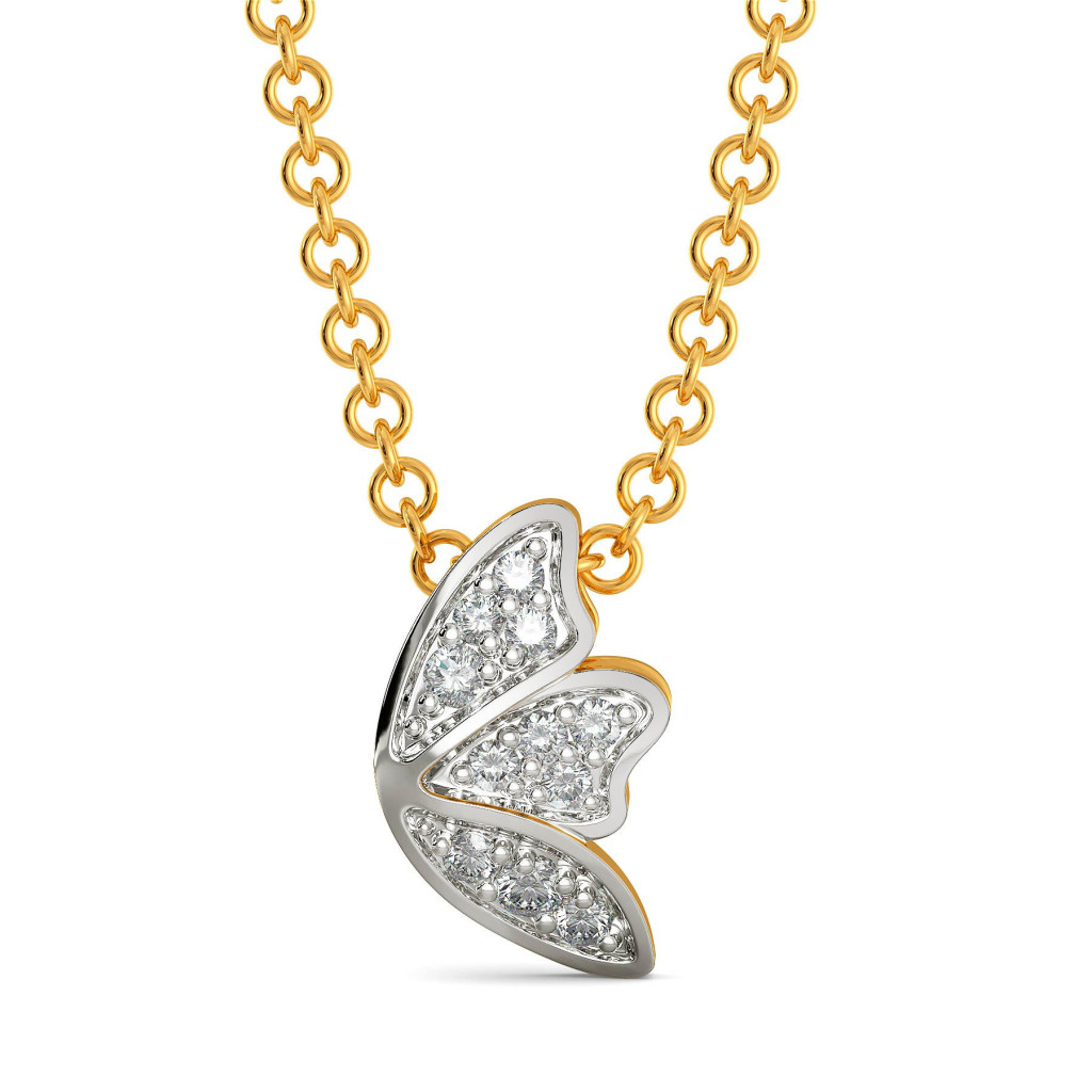Basic Blooms Diamond Pendants