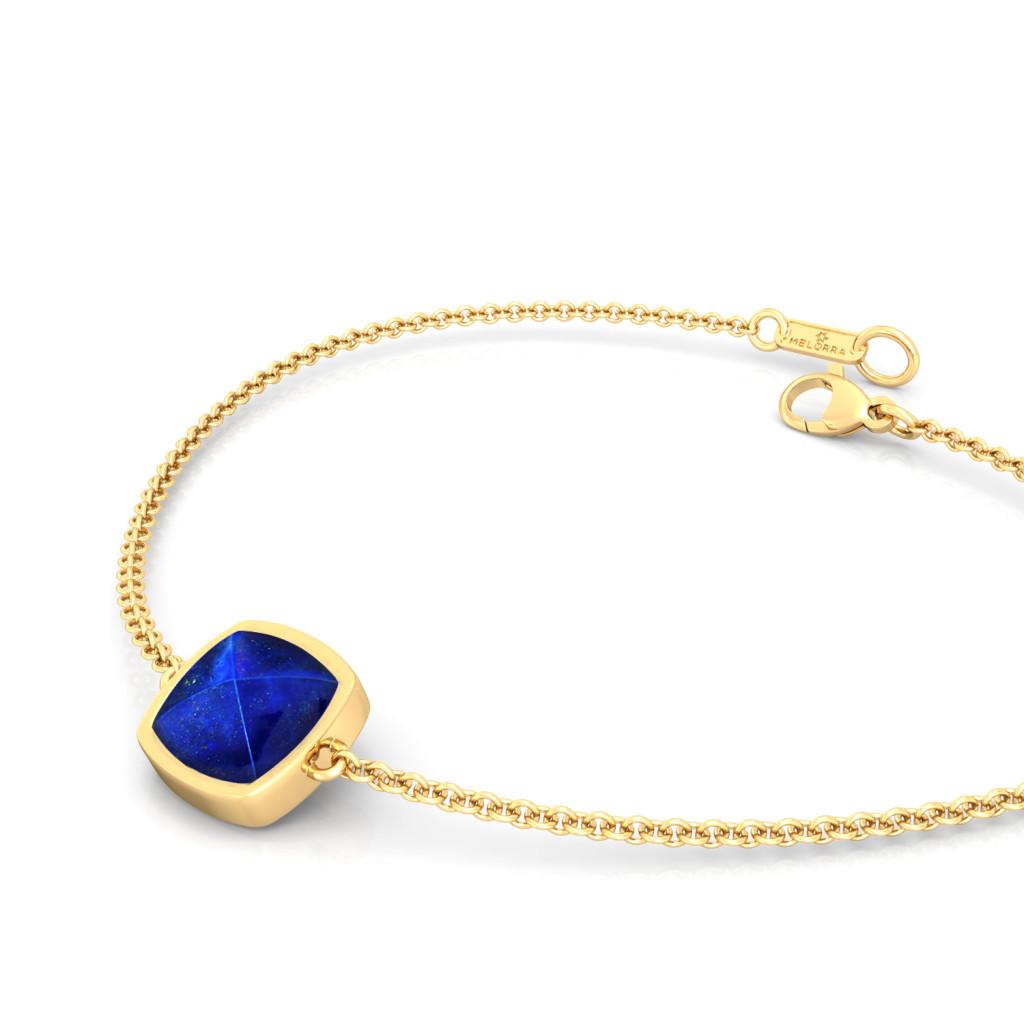 Midnight Blue Gemstone Bracelets