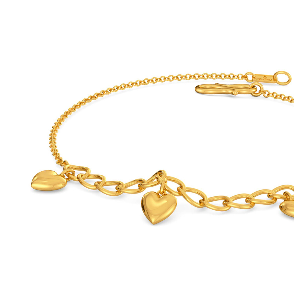 Love Shackles Gold Bracelets
